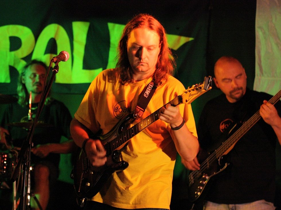 Vystoupení kapely Paralet