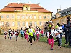 Tradiční Jarní běh u zámku v Krásném Dvoře.