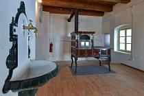 V Žatci skončila rekonstrukce Mederova domu. Jeho interiér čeká ještě doplnění o expozici.