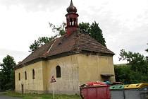 Kostel sv. Vavřince v Hořeticích patří vůbec k nejzdevastovanějším v okrese Louny.