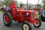 Návštěvníci dožínek si mohli prohlédnout historickou i moderní zemědělskou techniku