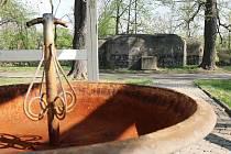 Bunkr na lounském výstavišti, jak vypadal před opravami