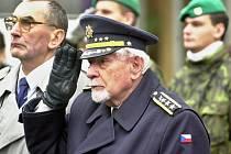 Generál František Fajtl na snímku z roku 2002