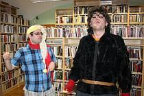 Jedna ze zábavných akcí pro děti v Městské knihovně Louny. Ilustrační foto