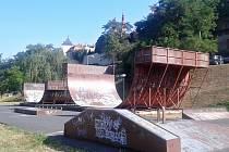 Žatecký skatepark byl otevřen v roce 1998