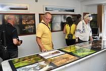 Výstava Dagmar Stříbrné a Václavy Felixové v Galerii U Plazíka