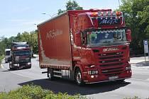 V Panenském Týnci  se konal Truck week.