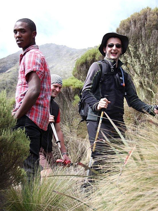 Luboš Peterka, další člen výpravy a jeden z nosičů při výstupu na Mount Meru