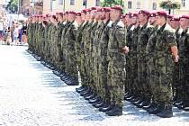 Žatec slavil, vojáci si připomněli výročí.