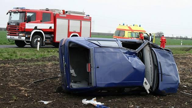Nehoda u Radíčevsi 21. dubna 2008
