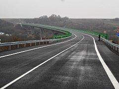 Slavnostní otevření přemostění Velemyšlevsi na silnici I/27