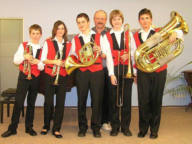 Zešťový kvintet Základní umělecké školy Louny