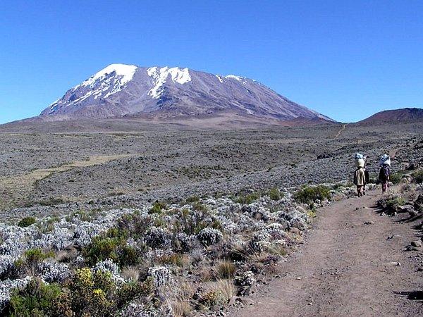 Kilimandžáro, vrchol Afriky
