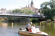 Letní lounské vábení 2015. Pohoda na řece.