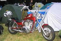 Motosraz Rack - reyd v Žerotíně