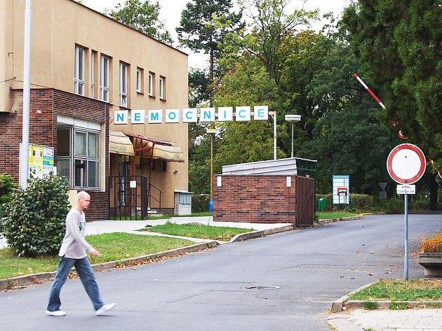 Vjezd do Nemocnice Žatec