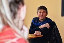 Legendární žokej Josef Váňa besedoval se studenty v Žatci