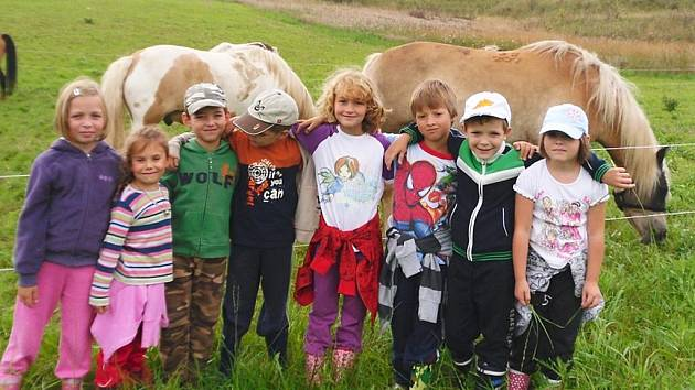 Děti na farmě v Bitozevsi