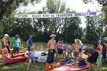 Akce ve Vršovicích k 1210 letům od první zmínky o řece Ohři