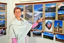 Perucký galerista Miroslav Blažek už otevřel, první letošní výstava fotografií je věnována provozovatelce outdoorových aktivit Blance Beckertové.