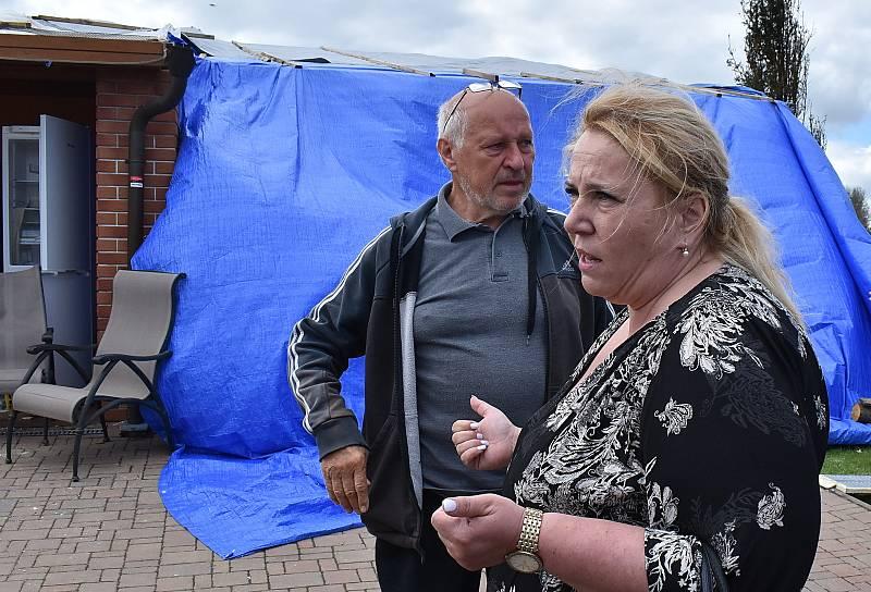 Ve středu do Stebna dorazila ministryně pro místní rozvoj Klára Dostálová.
