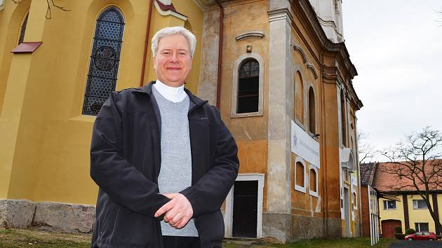 Liběšický farář Vilém Marek Štěpán.