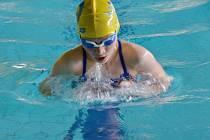Jitka Hornofová vylovila z bratislavského bazénu celkem pět medailí.