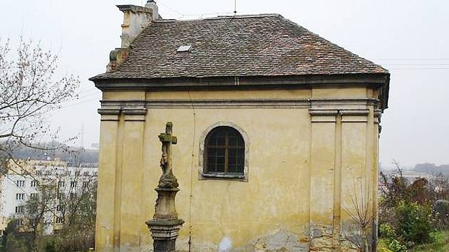 Barokní kaple Navštívení Panny Marie v Žiželicích