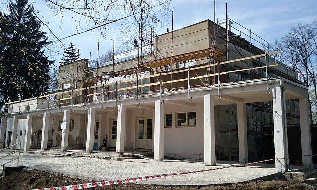 Pavilon Ana lounském výstavišti prochází velkou rekonstrukcí