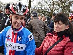 M. Mikulášková s maminkou