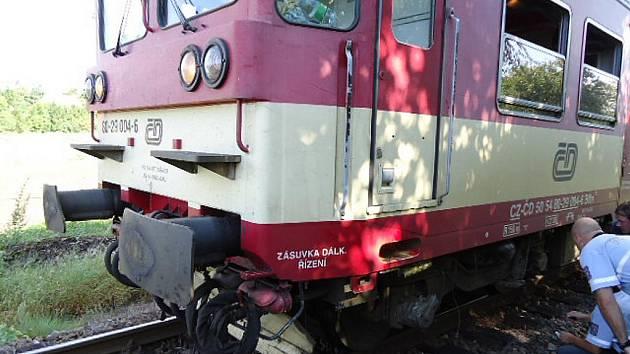 Vlakové neštěstí. Ilustrační foto