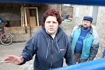 Proti pochodu je i Romka Kristýna Ďurajová, která v Postoloprtech žije se svým manželem Janem devět let.
