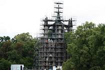 Gotický templ prochází kompletní rekonstrukcí