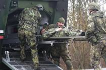 Cvičení Armády ČR v Doupovských horách