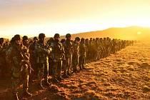 Ve Vojenském újezdu Hradiště v Doupovských horách cvičí více než 1800 vojáků