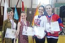 Marie Smetanová, Jana Svobodová, Markéta Ondráčková a Kateřina Tužilová si třetími místy na mistrovství ČR zajistily účast na podzimním mistrovství Evropy.