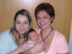 Mamince Barboře Pospíšilové z Blšan se 21. listopadu 2014 v 6.51 hodin narodila dcera Barbora Vargová. Vážila 3220 g a měřila 49 cm. Na snímku ji vítá také babička Jitka Pospíšilová.