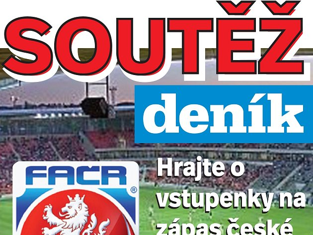 Hrajte s Deníkem o lístky na utkání české fotbalové reprezentace proti Litvě