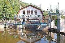 Malá vodní elektrárna na Ohři v Želině.