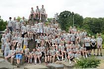 LETNÍ CAMP se lounské basketbalové akademii povedl na jedničku