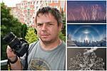 Fotograf počasí Jaroslav Fous a některé z jeho snímků