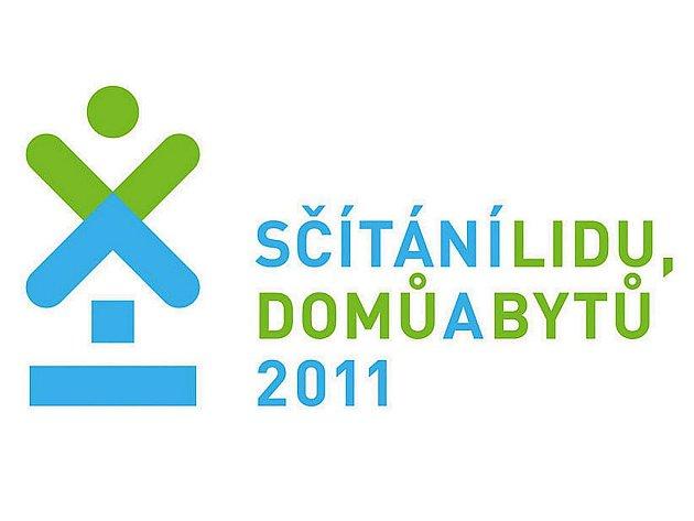 Logo Sčítání lidu, domů a bytů 2011