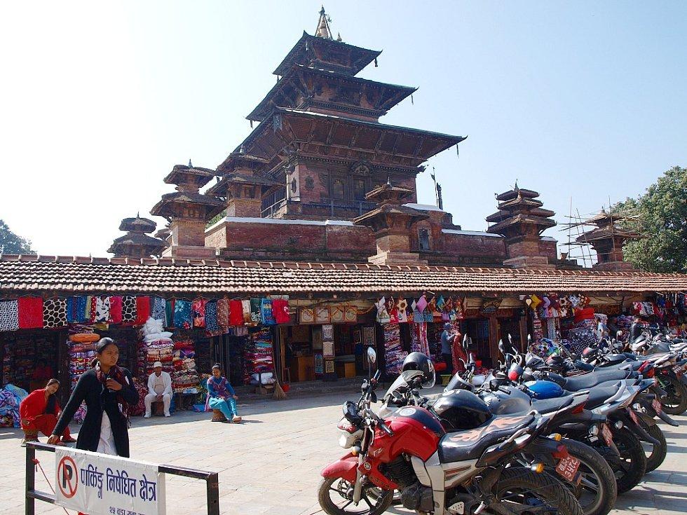 Chrám v Káthmandú