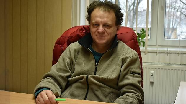 Starosta Vroutku Jaromír Kubelka