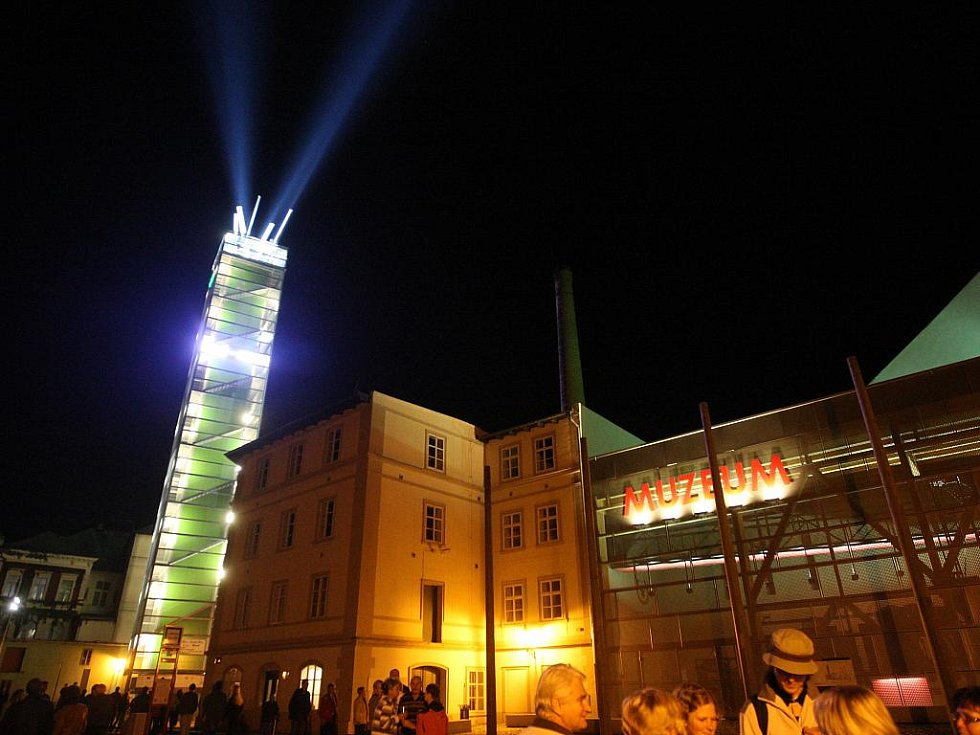 Chmelový maják, žatecká rozhledna vybudovaná v rámci projektu Chrám chmele a piva