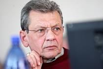 Karel Krčmárik (KSČM) na archivním záběru