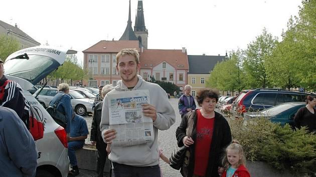 Loňský Den s Deníkem v centru Loun.