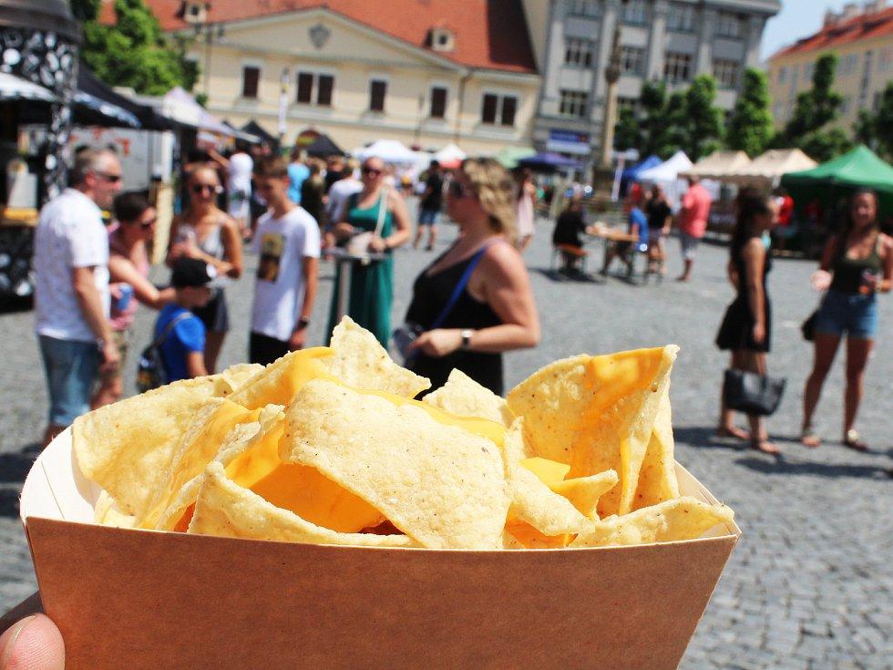 Food festival v Lounech.