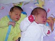Kateřina a Jan Balogovi se narodili Kateřině Balogové ze Žatce 6. února 2017. Kateřina vážila 2180 g a měřila 45 cm, Jan vážil 2800 g, měřil 46 cm.