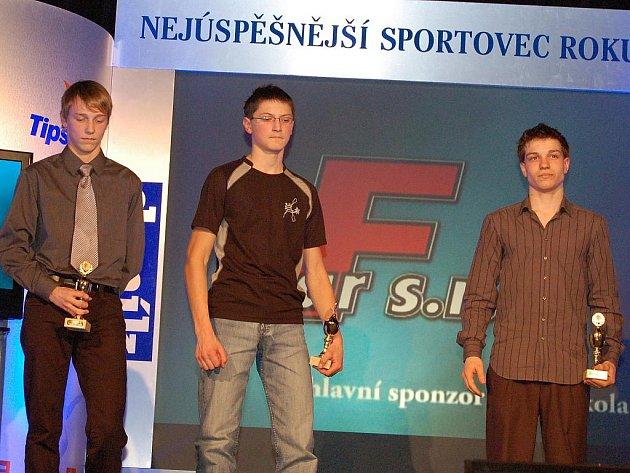 David Urban, Vladimír Slanina a Vojtěch Nipl (zleva)